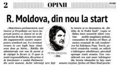 EDITORIAL: A Fresh Start for Moldova