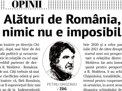 EDITORIAL: Together with Romania, Nothing is Impossible