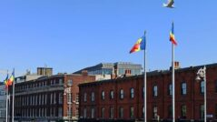 The Moldovan Flag Was Hoisted in Dublin and in São Paulo, Brazil, on the 30th Anniversary of Independence