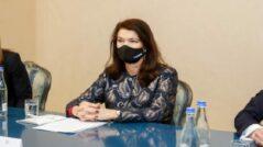 Maia Sandu Meets the OSCE President Ann Linde
