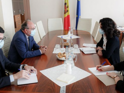 The Justice Reform Was Discussed by the Chairman of the Committee on Legal Affairs, Appointments, and Immunities with the Romanian Ambassador to Chișinău