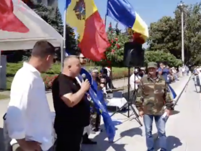 VIDEO/ Protests in the Grand National Assembly Square