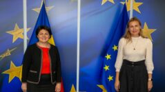 Prime Minister Natalia Gavrilița Had a Meeting on Tuesday, September 28, With Kadri Simson, European Commissioner for Energy
