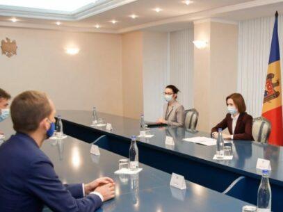 President Sandu and MEP Dragoș Tudorache Met to Discuss the Energy Crisis in Moldova