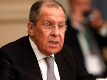 """Russian Foreign Minister Sergei Lavrov: """"The US and the EU interfere in Moldova's internal affairs, explicitly forbidding President Maia Sandu to have good relations with Russia"""""""