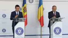 Moldova's Minister of Exterior, Nicu Popescu, Met in Bucharest with Romania's Minister of Exterior, Bogdan Aurescu