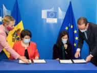 """Moldova Signs Agreement on Participation in the European Union's Framework Program for Research and Innovation """"Horizon Europe"""""""