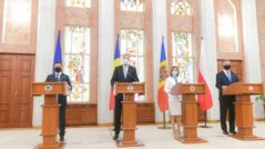 Presidents of Ukraine, Poland, and Romania on Moldova's 30th Anniversary of Independence