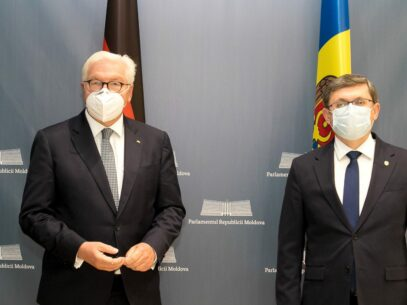 President of the Parliament, Igor Grosu, Had a Meeting with the President of Germany, Frank-Walter Steinmeier