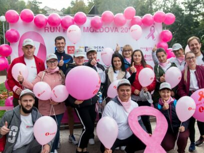 Race For The Cure- Run Pink Moldova Organizes a National Event For an International Community