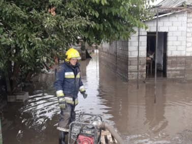 Heavy Precipitations Flooded Several Southern Moldovan Districts