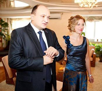 Александр и Екатерина Додон