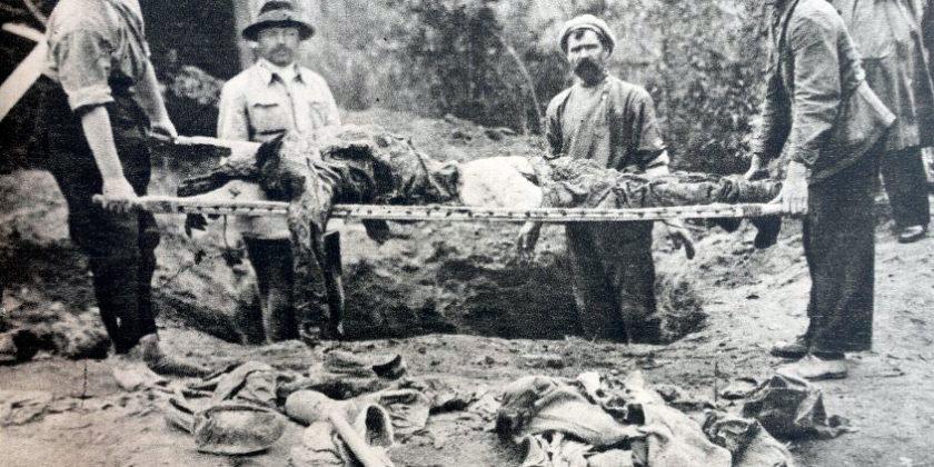 «Дом закусок» на останках жертв НКВД