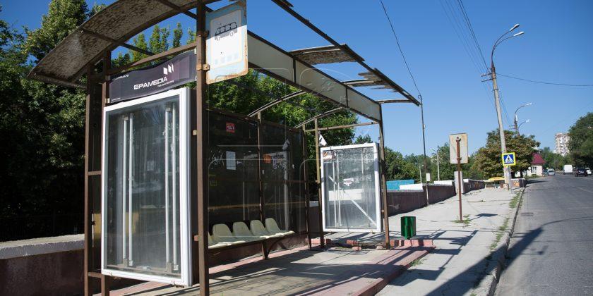 Около 60 процентов остановок ожидания общественного транспорта в Кишиневе находятся в плачевном состоянии
