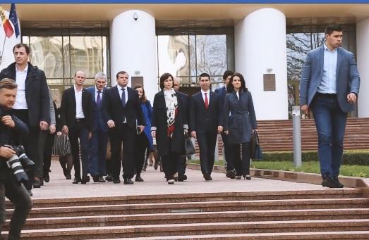 Политики разных стран об отставке Правительства Санду
