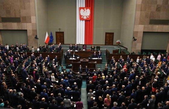 Сейм Польши уравнял ответственность Германии и СССР за Вторую мировую войну
