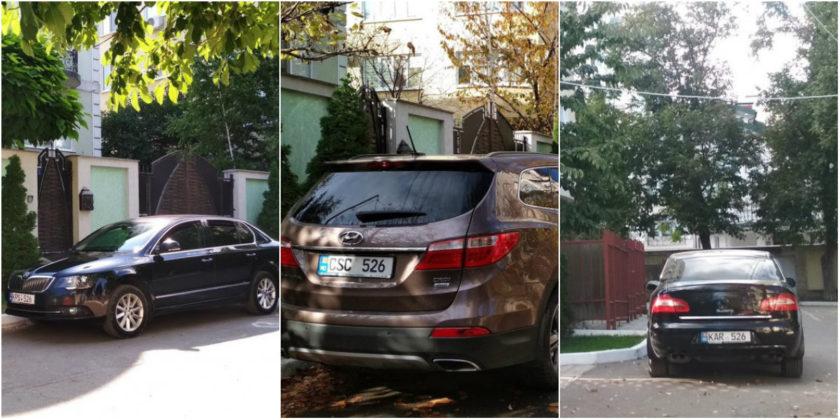 Семья Игоря Додона использует три машины, но Президентура этого не признает