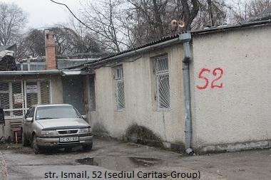ismail 52, sediul Caritas Group- administrator Nirauta A.-narcoman