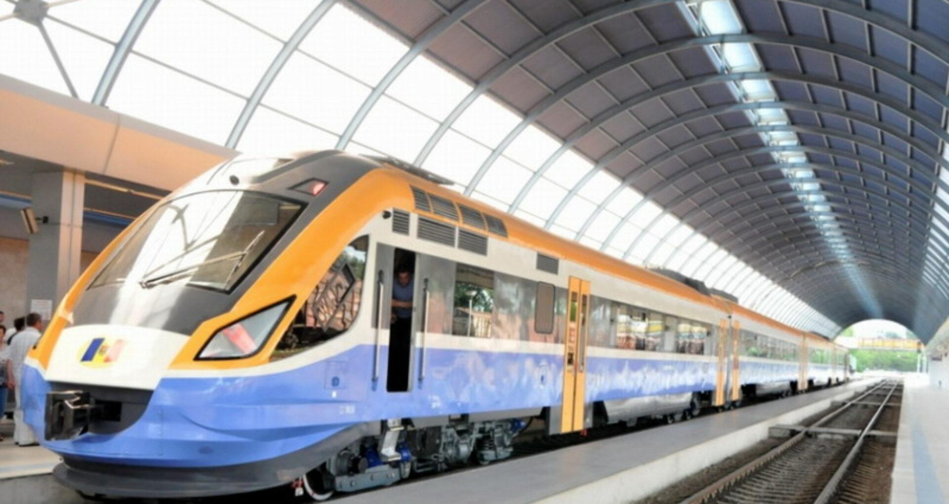 Trenul modernizat Chișinău-Ungheni a fost pus în circulație