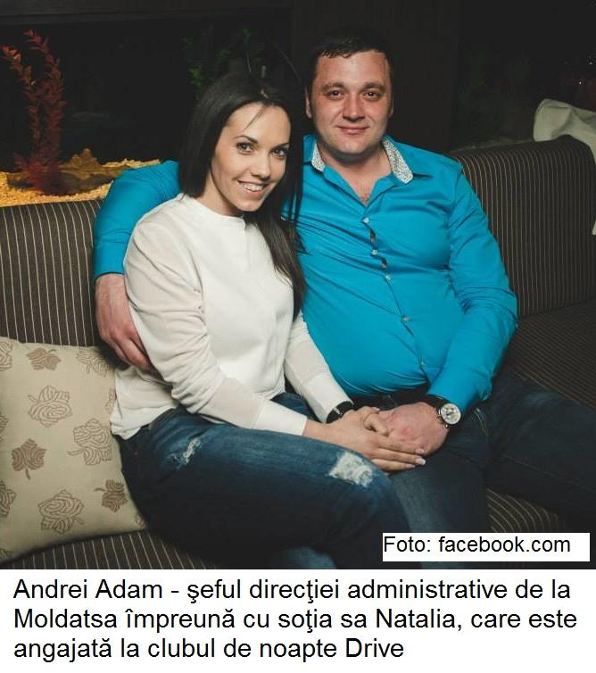natalia adam si andrei adam