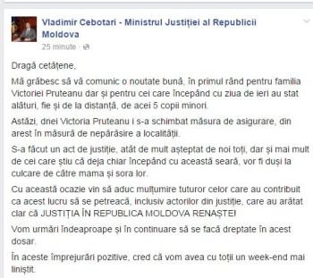 cebotari, facebook