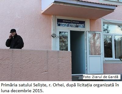 Primăria Seliște, Orhei