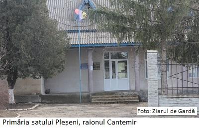 Primaria Pleșeni, r. Cantemir