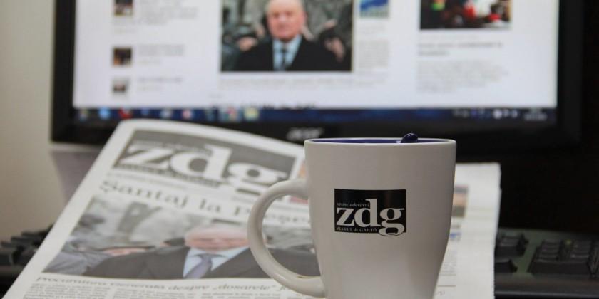 ZdG angajare citiți joi ziarul de gardă
