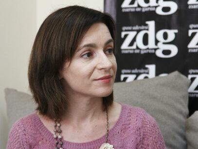 Maia Sandu: CEC a tergiversat până în ultima clipă stabilirea regulilor de joc pentru această campanie