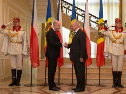 Întâlnirea Președintelui Nicolae Timofti cu premierul ceh, Bohuslav Sobotka