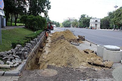 Proiectul tehnic privind reparația bd. Ștefan cel Mare nu a fost făcut public