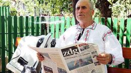 Constantin Cojan, meșter popular și cititor fidel al Ziarului de Gardă