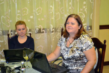 Cristina Lupu şi Ioana Avădani, de la CJI România, afirmă că peste Prut există puţină presă independentă