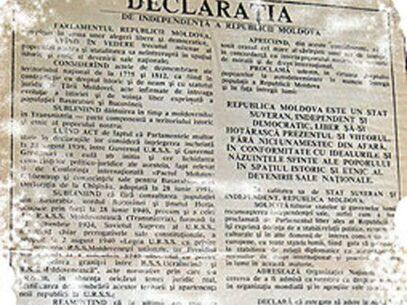 Declarația de Independență a R. Moldova