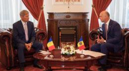 Cioloș in Moldova