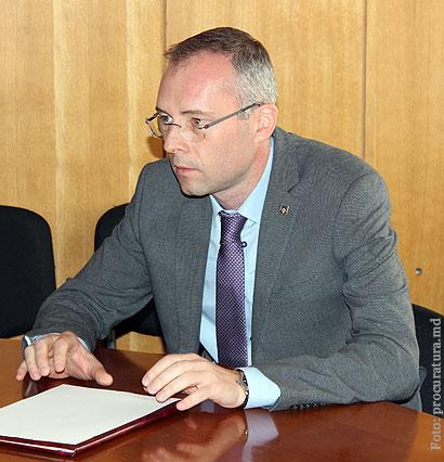 Valeriu Bodean - noul preşedinte al Colegiului evaluare a performanţelor procurorilor