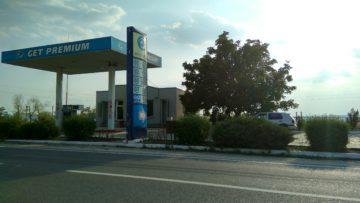 Benzinăria Get Premium de pe traseul Chișinău-Soroca, din apropierea satului Căzănești, r. Telenești