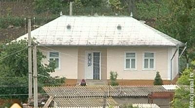 Casa lui Năstase din s. Mândreşti, Teleneşti, donată de mama candidatului