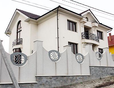 Casa din or. Codru, mun. Chişinău, în care locuieşte Andrei Năstase