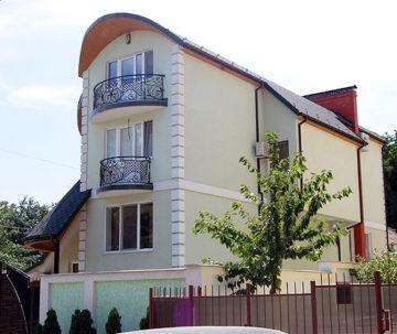 Casa familiei Dodon din sectorul Buiucani, Chișinău