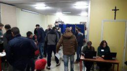 Secția de votare nr 350 de la Montreuil, Paris, Franța