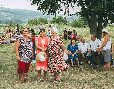 localnicii din s. Bahmut au asistat pentru prima dată la un concert de muzică clasică