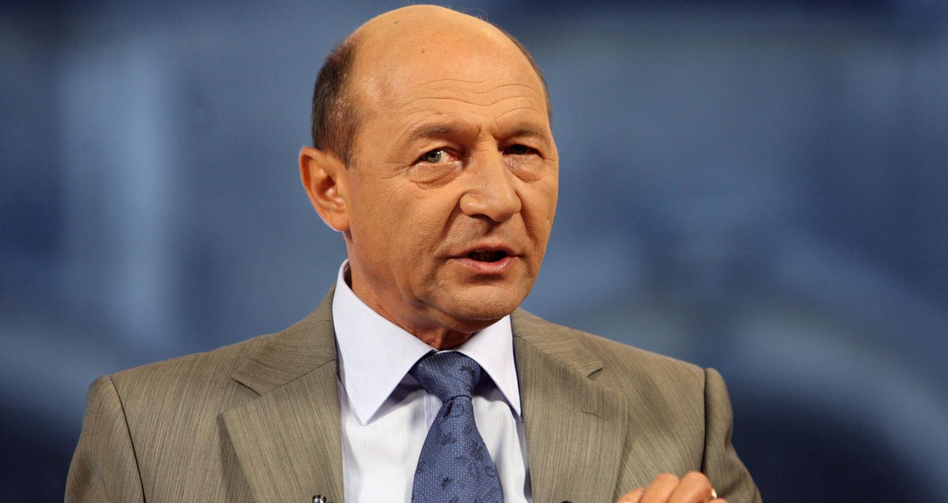 Un candidat la funcția de președinte promite să îl propună pe Traian Băsescu la funcția de premier. Chirtoacă: Sunt speculații