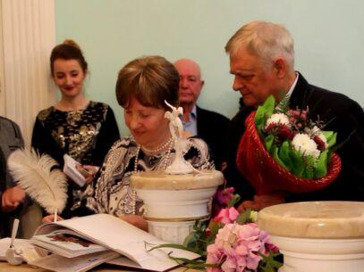 Împreună la bine și la rău. Mai multe cupluri din capitală au sărbătorit astăzi nunta de aur