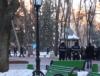 (VIDEO) Cetățenii de rând neadmiși în Parcul Ștefan cel Mare pe durata promenadei lui Igor Dodon