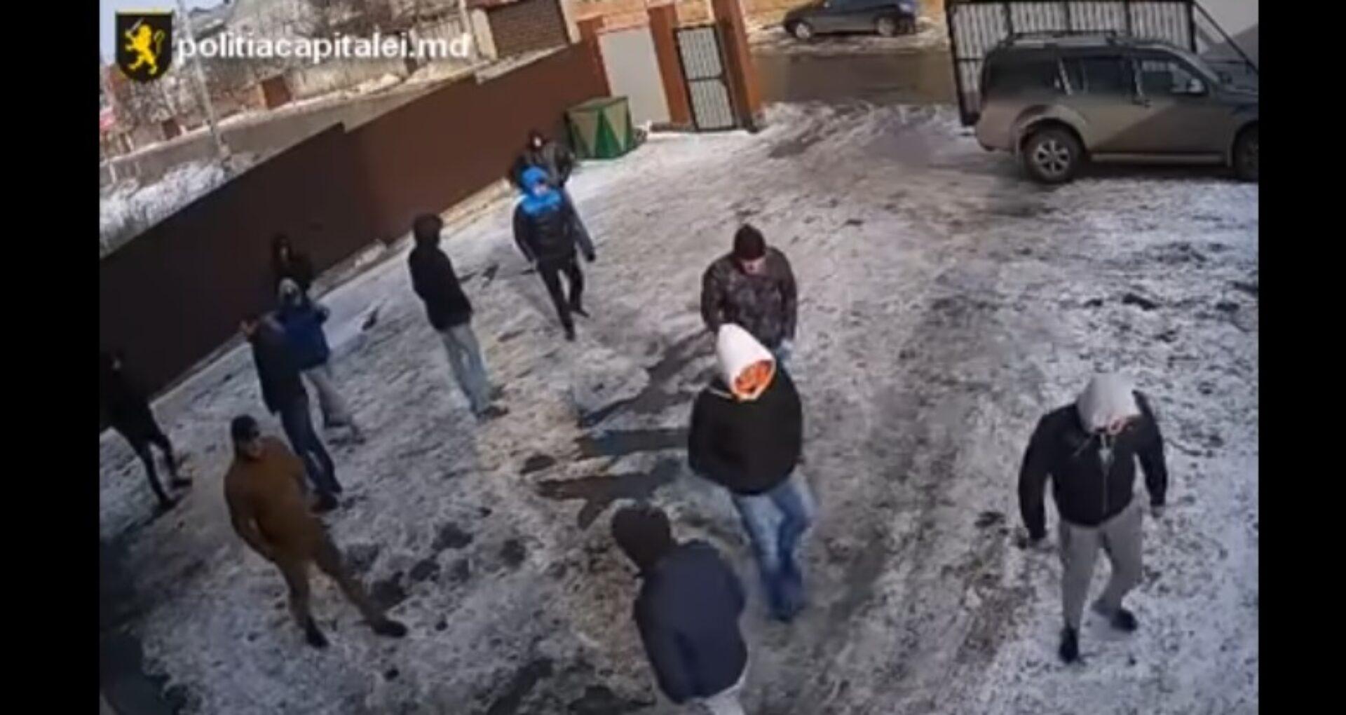 (VIDEO) Imagini de pe camerele de supraveghere din timpul atacului din Stăuceni