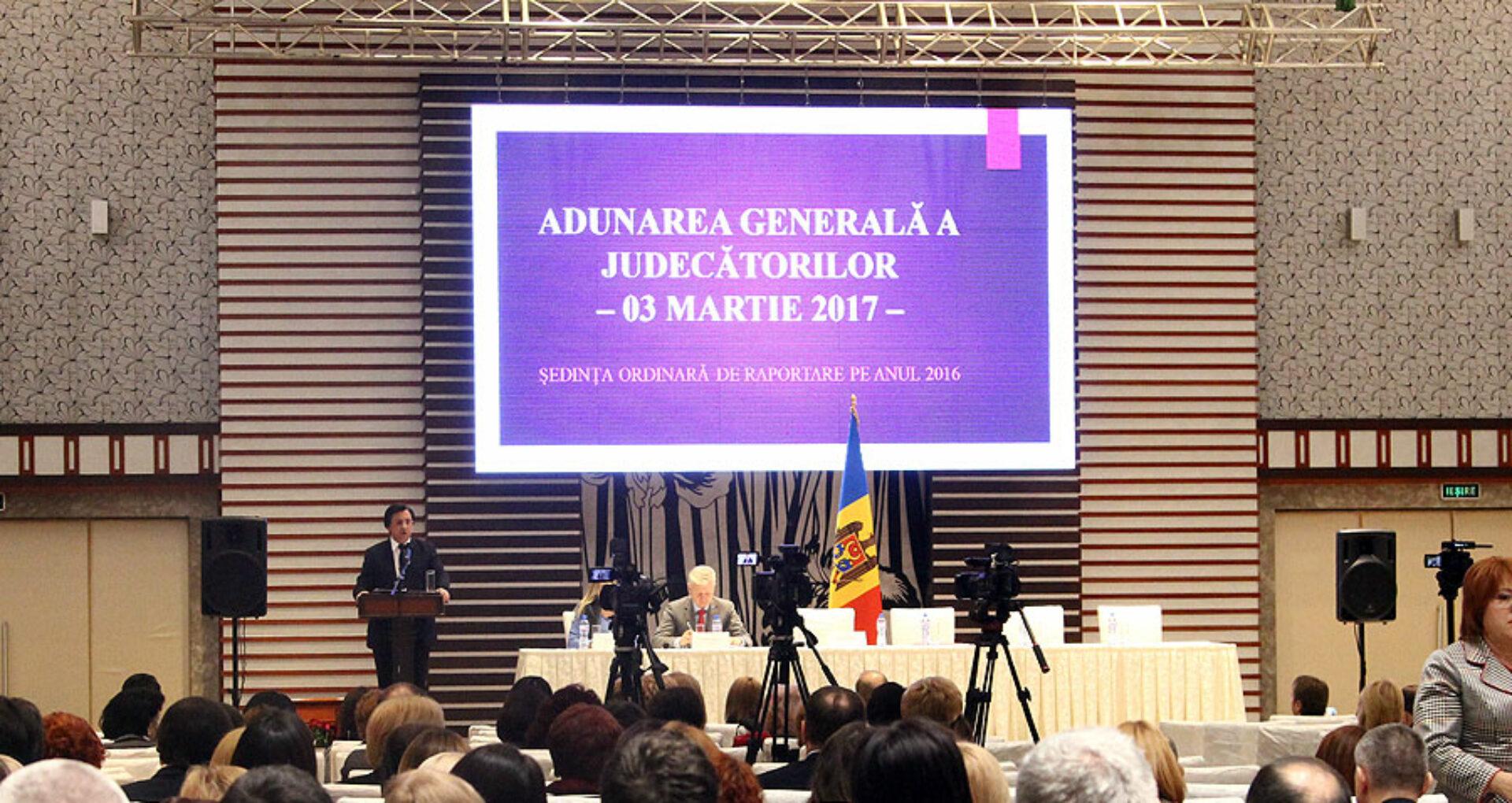 A fost respinsă cererea a 87 de judecători de a convoca Adunarea generală a Judecătorilor