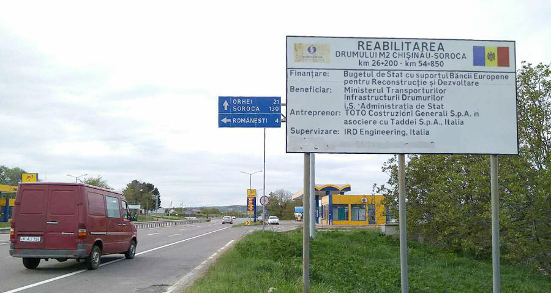 Unde au ajuns miliardele externe destinate reabilitării drumurilor