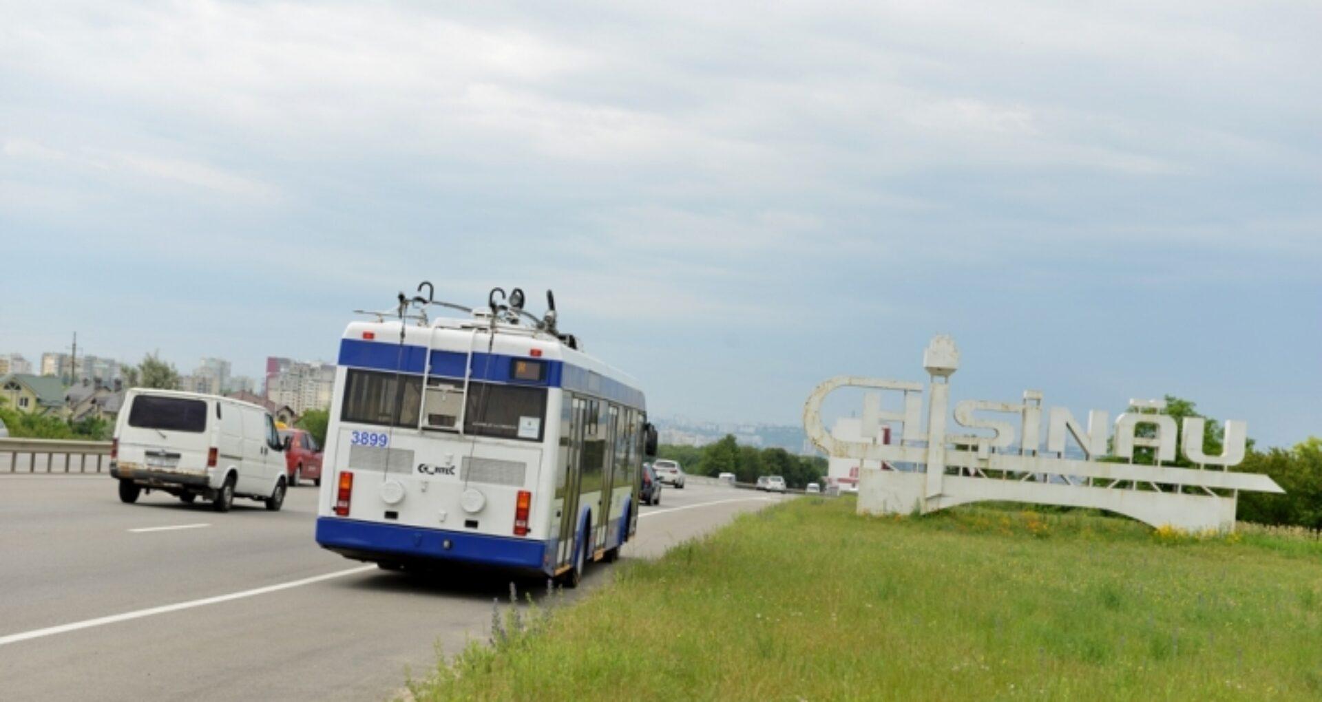 O nouă rută de troleibuz! Locuitorii Chișinăului sunt îndemnați să propună traseul