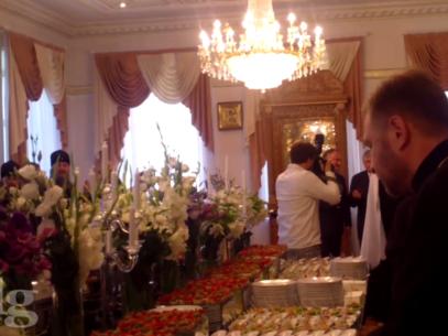 Imagini video EXCLUSIVE de la aniversarea Mitropolitului Vladimir